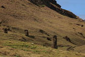 Moais at Easter Island — Stock fotografie