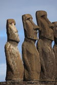 Easter Island Moai Statue — Stock Photo