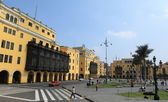 Historic Center of Lima — Foto Stock