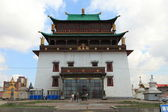 Ulaanbaatar Gandan Monastery — Stock Photo