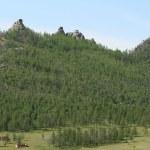 Landscape in Mongolia — Stock Photo