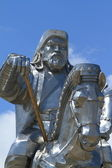 Genghis Khan Monument at Zonjin Boldog — Stock Photo