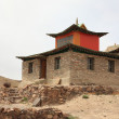 Stock Photo: Monastery of Nomgon Mongolia