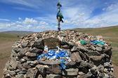 Place of worship Mongolia — Stock Photo