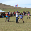 Stock Photo: Tradionel Naadam Festival in Mongolia
