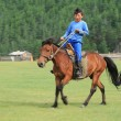 Stock Photo: Mongol Equestrian