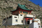 A Buddhism Monastery of Mongolia — Stock Photo