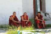 Buddhism Monks — Stock Photo