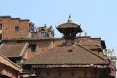Bhaktapur świątyni city w nepalu — Zdjęcie stockowe