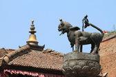 The Temple City Bhaktapur in Nepal — Stock Photo
