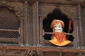 Maski boga z nepalu — Zdjęcie stockowe
