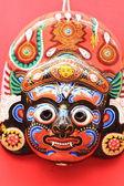 Máscara de un dios de nepal — Foto de Stock