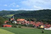The Village Herleshausen Germany — Stock Photo
