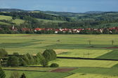 Cultural Landscape of Werratal Germany — Stock Photo