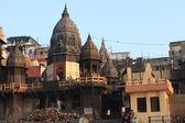Hindistan'da varanasi, kutsal ghats — Stok fotoğraf