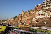 The Holy Ghats of Varanasi in India — ストック写真
