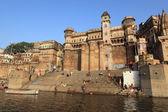 De heilige ghats van varanasi in india — Stockfoto