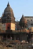 The Ghats of Varanasi in India — Stock Photo