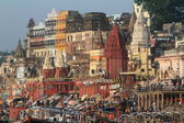 The Ghats of Varanasi in India — Stock Photo