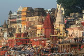 The Ghats of Varanasi in India — ストック写真