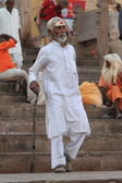 Holy Sadhu in India — Stockfoto