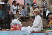 Świętych sadhu w Indiach — Zdjęcie stockowe