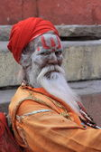 Holy Sadhu — Stock Photo