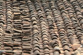 старая крыша — Стоковое фото