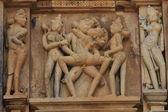The Temple City Khajuraho in India — Stock Photo