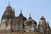 The Temple City of Khajuraho in India — Стоковое фото