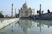 The Taj Mahal in Agra India — Stock Photo