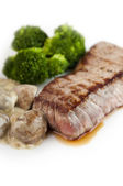 Grilled stake — Stock Photo