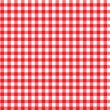 Italian picnic tablecloth pattern — Stock Photo