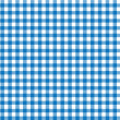 Stock Photo: Italian picnic tablecloth pattern with blue stripes