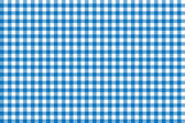 Italian picnic tablecloth pattern with blue stripes — Stock Photo