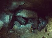 Underground caves tunnel — Stock Photo
