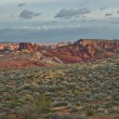 Valley of Fire Sunrise Panorama — Stock Photo