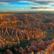 Sunrise on Bryce Canyon — Stock Photo