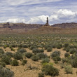 Valley of the Gods Panorama — Stock Photo