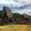 Stock Photo: Old Idaho Barn