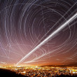 Stock Photo: SJose Sky Trails