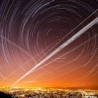 Stock Photo: SJose Star Trails