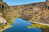 Snake River Canyon — Stock Photo