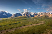 Polychrome Point, Denali — Stock Photo