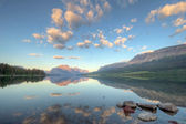 Saint Mary Lake Reflection — Stock Photo