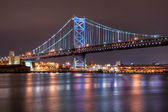 Ben Franklin Bridge, Philadelphia — Stock Photo