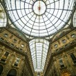 Galleria Vittorio Emanuele II - Stock Photo
