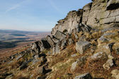 Stanage Edge in Peak District National Park Derbyshire England — Stock Photo