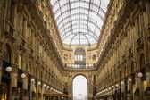 Galleria Vittorio Emanuele II — Stock Photo