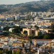 Malaga cityscape — Stock Photo